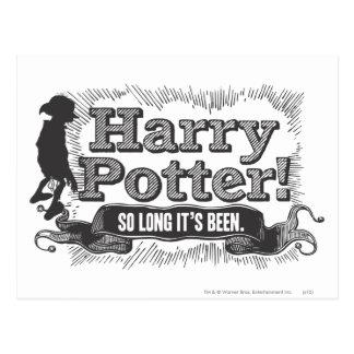 Harry Potter! Zo lang is het geweest Briefkaart