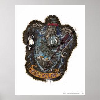 Harry Vernietigde Potter | CREST Ravenclaw - Poster