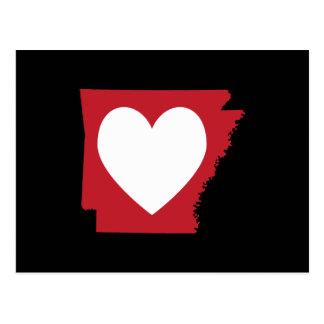 Hart Arkansas Briefkaart