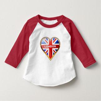 Hart-gevormde Britse Vlag Romper