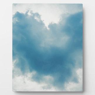 Hart Gevormde Cloud2 Fotoplaat
