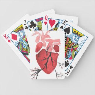Hart met Takken Poker Kaarten