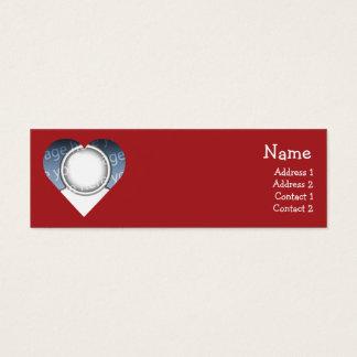 Hart Mini Visitekaartjes