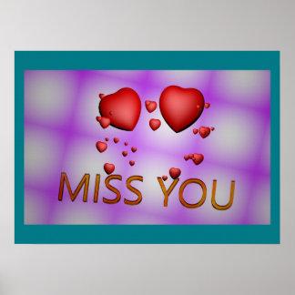 Hart Misser Keepsake Memory Love Destiny Lot Poster