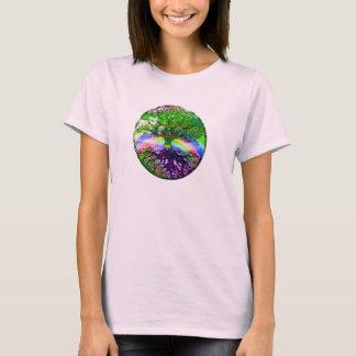 Hart, Regenboog en Boom van het Leven T Shirt
