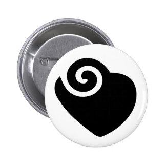 hart ronde button 5,7 cm