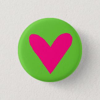 hart speld ronde button 3,2 cm