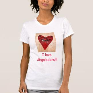 hart tand, houd ik van Megalodons!!! T Shirt