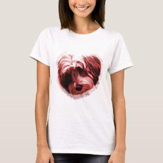 Hart van Tibetan Terrier T Shirt