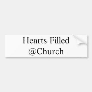 Harten Gevulde @Church sticker