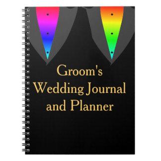 Harten Gloeiend met het Dagboek van de Vrolijke Ringband Notitieboek