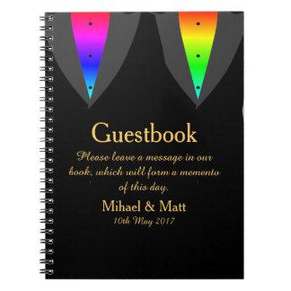 Harten Gloeiend met Trots Guestbook voor Vrolijke Notitieboek