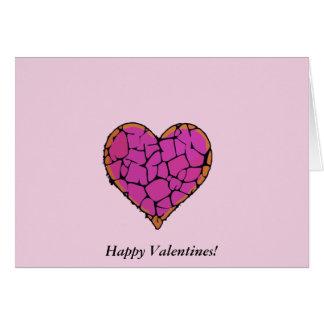 Harten in liefde briefkaarten 0