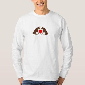 Harten Rode Dobermans T Shirt