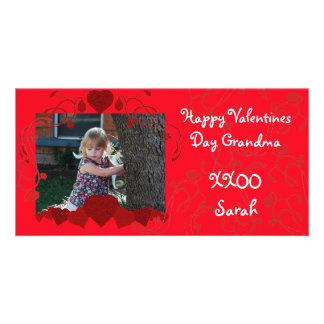 Harten Valentijn Photocard Gepersonaliseerde Fotokaarten