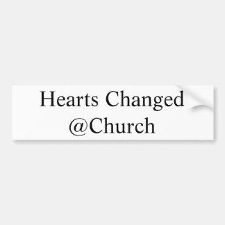 Harten Veranderde @Church sticker
