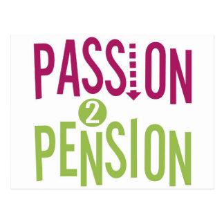 Hartstocht 2 Pensioen Briefkaart