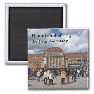 Hauptbahnhof, Leipzig, Duitsland Magneet