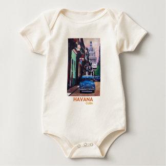 Havana in Cuba - Gr Capitolo met oldtimer Baby Shirt