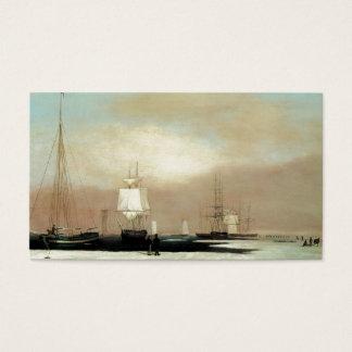 Haven 1835 van Boston Visitekaartjes