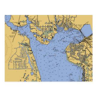 Haven Briefkaart van de Grafiek van Charlotte,