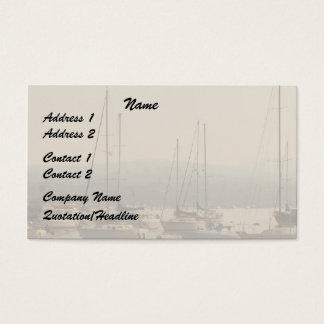 Haven/het Visitekaartje van Zeilboten Visitekaartjes