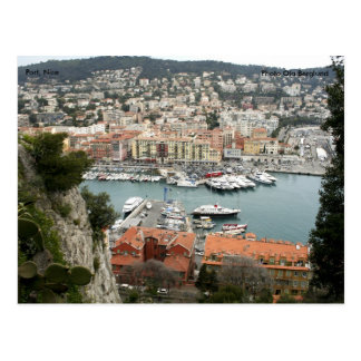 Haven, Nice, Foto Ola Berglund Briefkaart