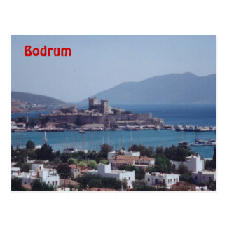 Haven van Bodrum Briefkaart