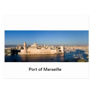 Haven van Marseille Briefkaart