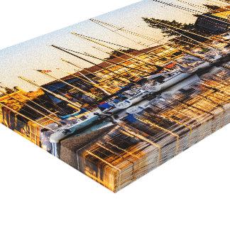 Haven van Olympia Canvas Afdruk