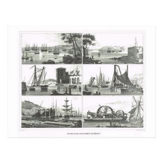 Havens en havens briefkaart