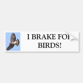 Havik, REM ik FORBIRDS! Bumpersticker
