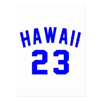 Hawaï 23 Design van de Verjaardag Briefkaart
