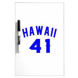 Hawaï 41 Design van de Verjaardag Dry Erase Whiteboards
