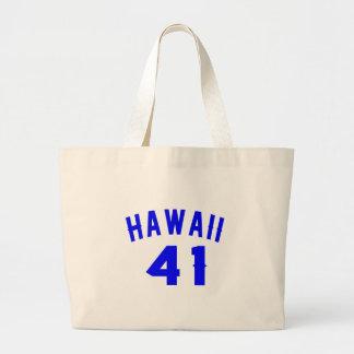 Hawaï 41 Design van de Verjaardag Grote Draagtas