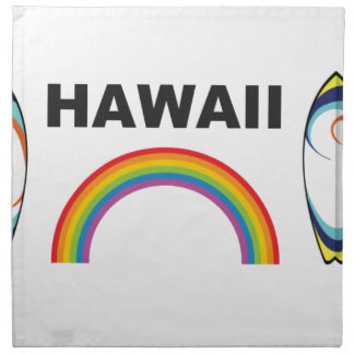 Hawaï surf raad katoenen servet