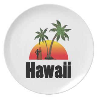 Hawaï surfer party bord