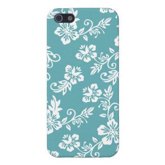 Hawaiiaans BloemenPatroon iPhone 5 Hoesje