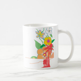 Hawaiiaans paradijs koffiemok