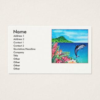 Hawaiiaanse Dolfijn Visitekaartjes
