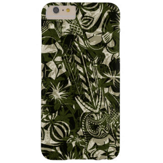 Hawaiiaanse iPhone 6 van de Handelaar van Tiki Barely There iPhone 6 Plus Hoesje