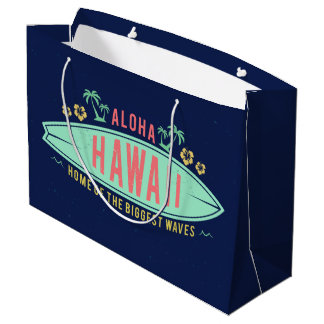 Hawaiiaanse Surfer grote de giftzak van Aloha Groot Cadeauzakje