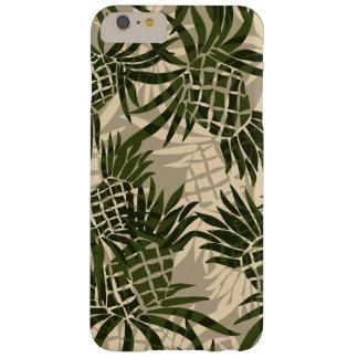 Hawaiiaanse Tropisch van Camo van de ananas Barely There iPhone 6 Plus Hoesje