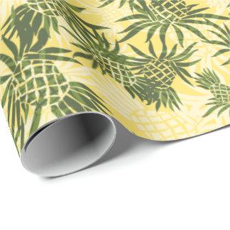 Hawaiiaanse Tropisch van Camo van de ananas Inpakpapier