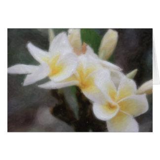 Hawaiiaanse Tropische Kaarten Plumeria
