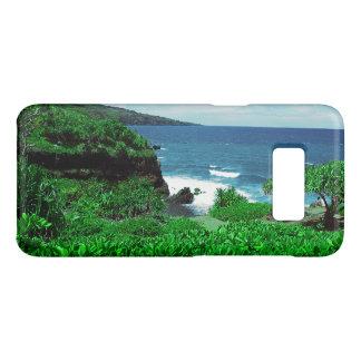Hawaiiaanse Tropische Oever met Tropisch Plant Case-Mate Samsung Galaxy S8 Hoesje