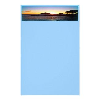 Hawaiiaanse zonsondergangKantoorbehoeften Briefpapier