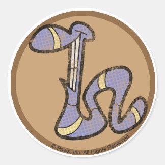 Hazelnoot de Stickers van de Worm