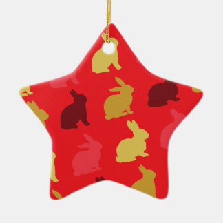 Hazen Keramisch Ster Ornament
