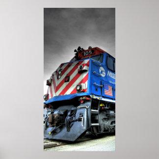 HDR-trein Poster